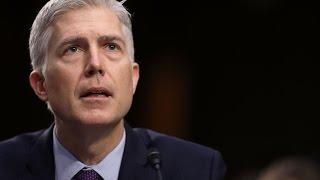 Gorsuch tells Senate that Trump didn