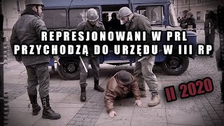 Represjonowani w PRL przychodzą do urzędu w III RP