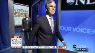 GOP Debate Intro FAIL - FUNNY ᴴᴰ