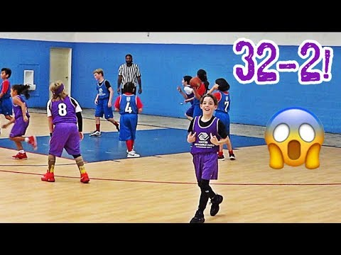 YOUTH BASKETBALL GAME | BOYS AND GIRLS CLUB BASKETBALL