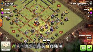 th10 war 3 star GOBOHO attack strategy in Hindi