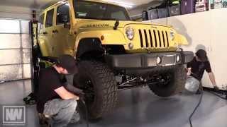 "TeraFlex JK 3"" Spring Lift w/Speed Bumps (Part 2 - Front) - ""The NeWere4x4 Jeep"""