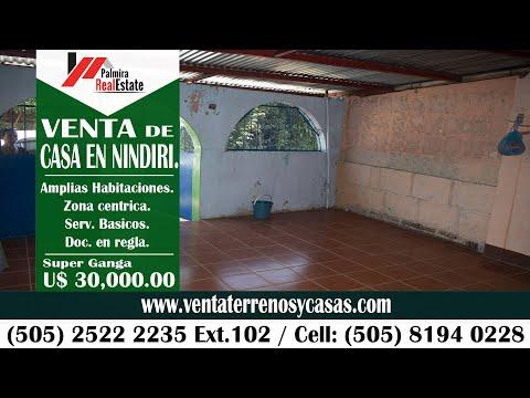 Imagen de Venta de Casas en Nindirí - Masaya