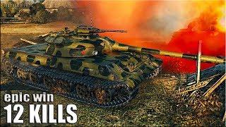 Объект 430У 🌟 медаль Колобанова, 12 фрагов 🌟 World Of Tanks лучший бой на новом СТ СССР об 430у