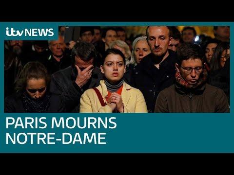 Parisians describe their heartbreak in the aftermath of Notre-Dame blaze | ITV News