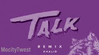 Khalid Ft Megan Thee Stallion & Yo Gotti - Talk (Remix) Chopped & Screwed