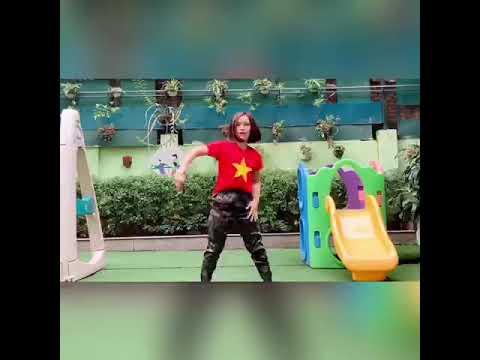 Hướng dẫn trẻ nhảy Ghen-cô-vy của cô giáo Nguyễn Thị Tú Nga