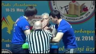 JUNIOR21 MEN RIGHT 80KG   DAVID, KOKOEV RUSSIA 2864 vs PAVEL, RUDNIK RUSSIA 7802 2nd final
