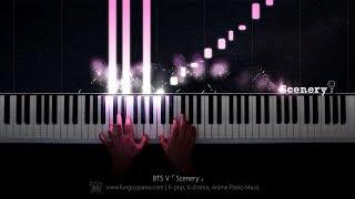 BTS V「Scenery」Piano