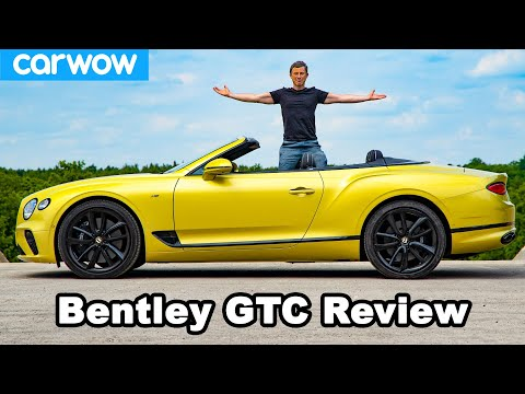 Bentley Continental GT Convertible review - see how quick it can go TOPLESS!