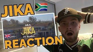 AKA - Jika ft. Yanga Chief BRITISH REACTION