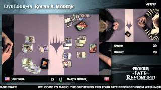Pro Tour Fate Reforged Round 8 (Modern): Frank Karsten vs. Osman Ozguney