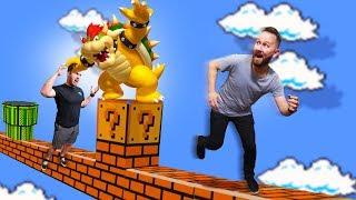 Mario Deathrun Challenge! | Human Fall Flat