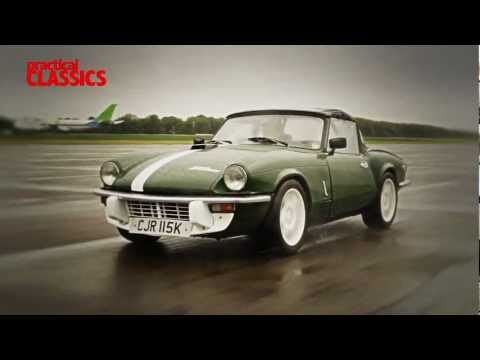 5 Triumph Spitfires Track Tested