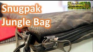 Snugpak Jungle Bag Schlafsack - Der beste Sommerschlafsack? Vergleich mit Carinthia Tropen.Erfahrung