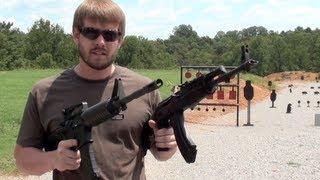 AK47 VS AR15  SPEED SHOOT