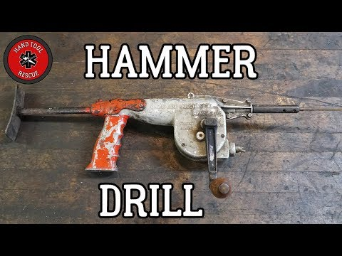 Vintage Hammer Drill [Hand Tool Rescue]