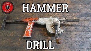 Vintage Hammer Drill [Restoration]