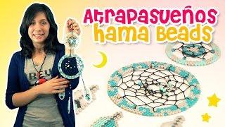 Pixelexip 14 :: Sácale jugo a tu base redonda y tus Hama Beads para hacer un atrapasueños