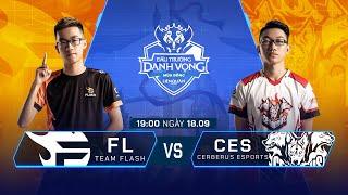 Team Flash vs Cerberus Esports | FL vs CES [Vòng 13 - 18.09] - ĐTDV Mùa Đông 2019