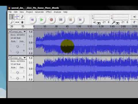 Remove vocals from a song in audacity! Remove singing from a track.