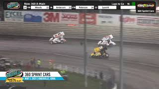 Knoxville Raceway 360 Highlights - May 1, 2021