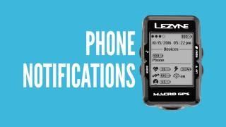 Lezyne Y10 GPS Phone Notifications Tutorial