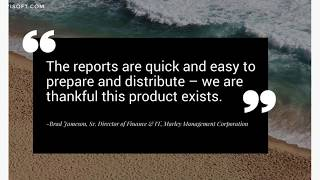 FYIsoft Financial Reporting Software Overview