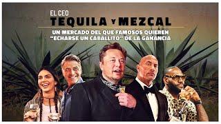 "#Tequila #mezcal, un mercado del que famosos quieren ""un caballito"" de la ganancia"