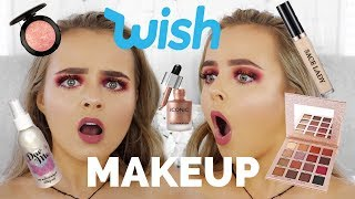 TESTING WISH APP MAKEUP | WAS IT A DISASTER?!? | Conagh Kathleen