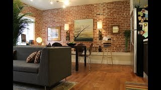 20 Living Rooms With Exposed Brick Walls