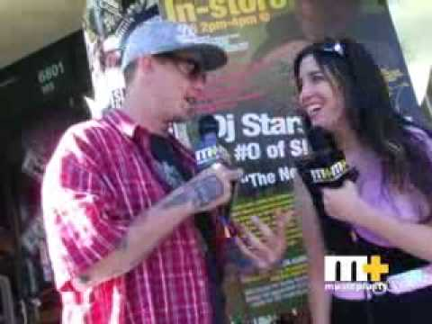 SLIPKNOT- (Sid's DJ Starscream Project) Interview w/ Jen on Rock This