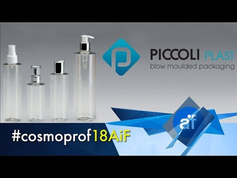 Flaconi in PET Kristal - Piccoli Plast