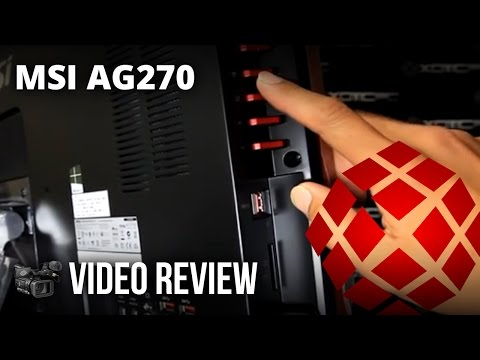 """MSI 27"""" AG270 (All-in-One) - Review by XOTIC PC"""