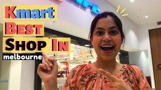 Shop With Me In KMart Melbourne | Neha Singh Lifestyle Vlogs