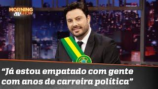 Não é piada: Danilo Gentili pode ser o novo presidente do Brasil | Morning Show
