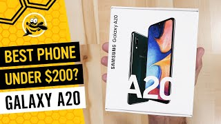 Samsung Galaxy A20 Unboxing and First Impressions