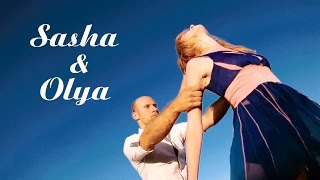 Sasha & Olya | Zouk dance | 2017 | DJ Nymf ft. David Guetta - Dangerous