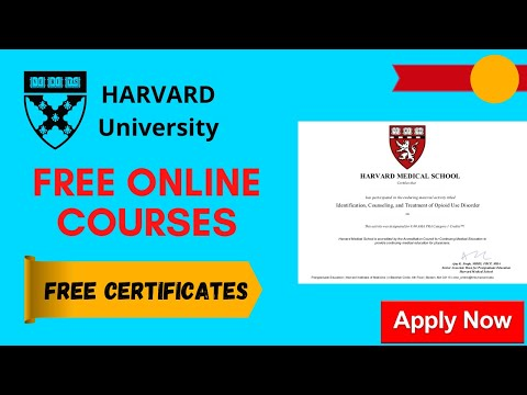 Harvard University Online Courses with Free Certificates | Free ...