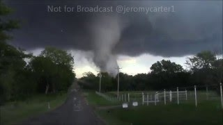 May 9th, 2016 Tornado outbreak. Tornado Wynnewood Oklahoma