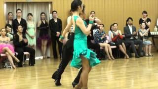 社交ダンス チャチャチャ 第1位 第13回ヤングサークル10ダンス選手権 若者サークル競技会