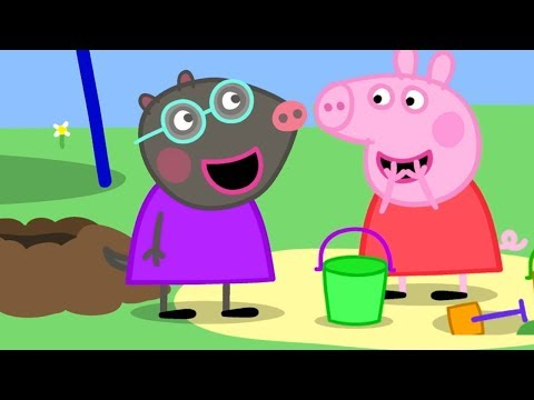 Peppa Pig English Episodes 🎄Peppa's New Friend! Molly Mole  | Peppa Pig Official