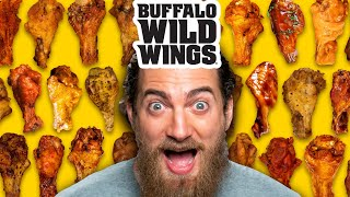 We Try EVERY Buffalo Wild Wings Flavor