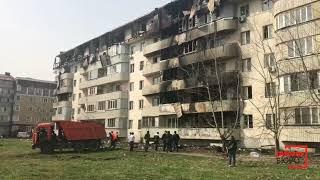 Многоэтажный дом сгорел в Жетысуском районе Алматы