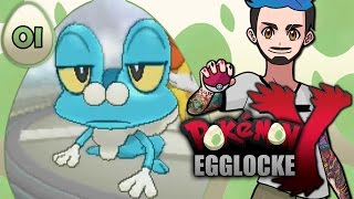 01 | I NEED EGGS!!! | Pokémon Y Egglocke by Ace Trainer Liam