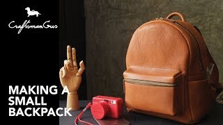 Making Bag : Backpack S #LeatherAddict EP38