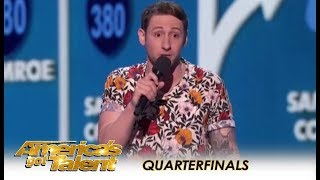 Samuel J. Comroe: Comedian Explains How HOMELESS People Get Dogs?  | America's Got Talent 2018