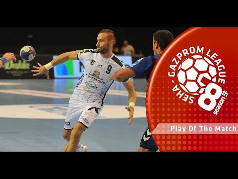Play of the match: Dominik Krok (Tatran Presov vs PPD Zagreb)