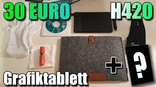 Huion H420 Grafiktablet - Unboxing [Deutsch]