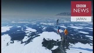 世界一過酷な耐久レースロシア・バイカル湖の氷上200キロ